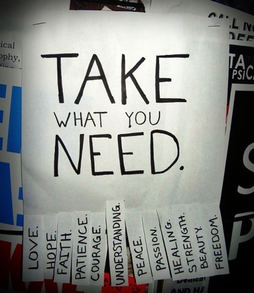 Take what you need · Law Office Of JD